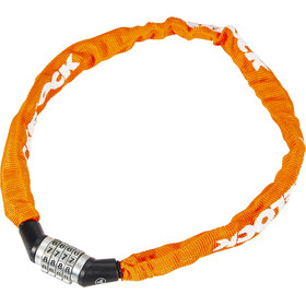 Trelock BC 115 Code Bike Lock 60 cm orange
